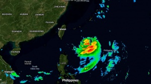 Tapah(18W) intensifying, typhoon intensity forecast in 48h south of Jeju