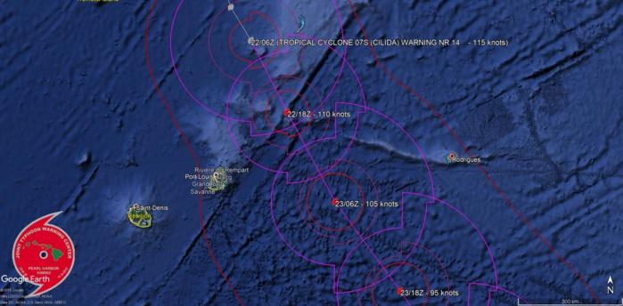 Prévision de trajectoire stable. Navy US.