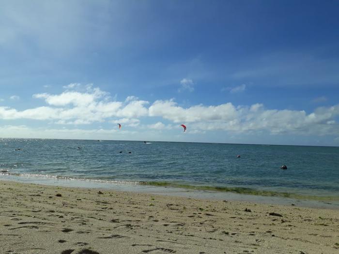 Hier à la Preneuse sur la côte ouest de Maurice. Merci à Tatie Tamarin.