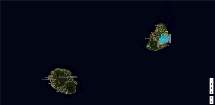 14h01: selon les toutes dernières images(et simulations) les averses s'étendent à l'est de Maurice.
