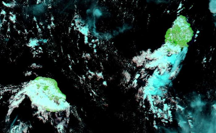 Le satellite Aqua, en haute résolution à 14h15. Nasa US.