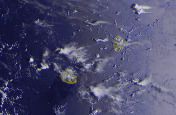 Les Iles Soeurs, 08h53. Meteor M2 , Jacques Gentil, 4Bornes, que j'ai travaillée un peu.