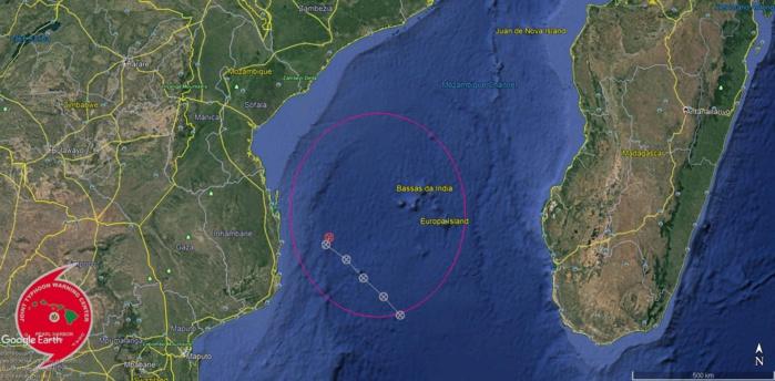 Bulletin d'alerte(TCFA) émis par le JTWC à 8h ce matin.