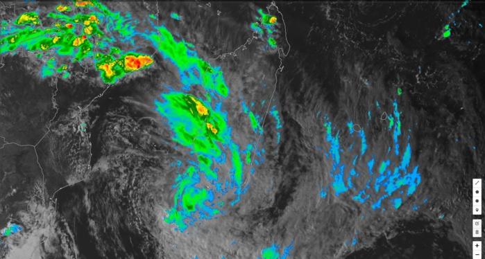 Photo satellite de 18h.