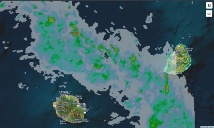 06h30: radar Météo France. Crédit https://www.meteoi.re