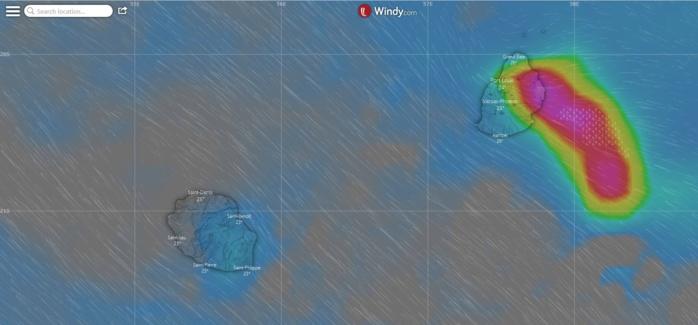 Le modèle européen simule un risque orageux sur l'est et le nord de Maurice la nuit prochaine. Je vais suivre tout ça de près.