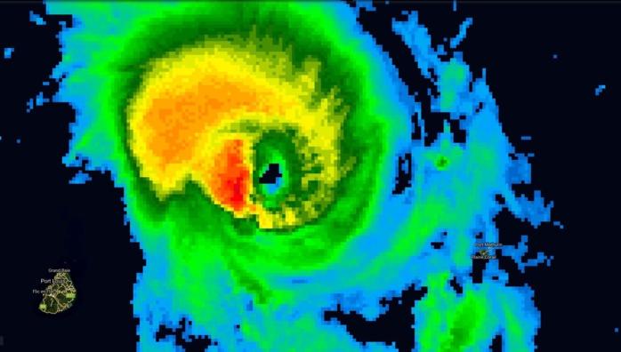 Photo satellite de 16h.