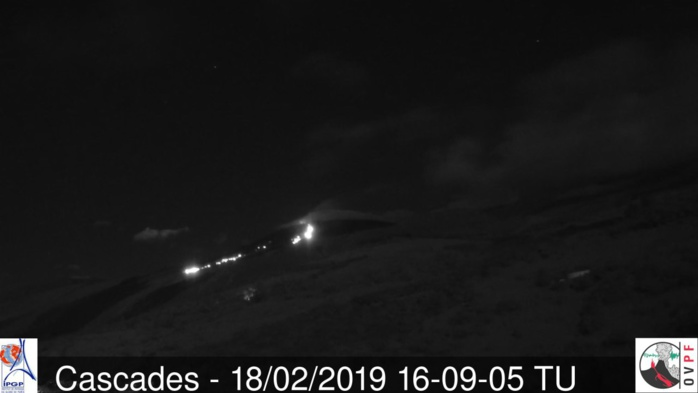 Eruption du Piton de la Fournaise: je vais aller faire un ti tour