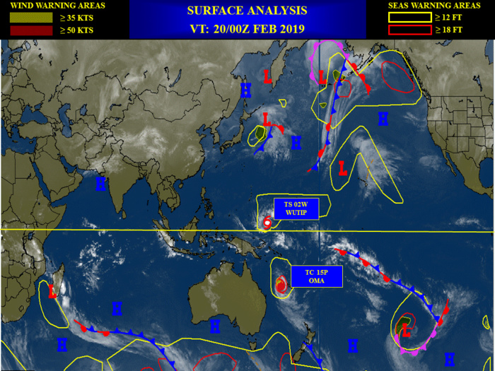 Océan Indien: Cyclones:  pas de zone suspecte pour les prochaines 24heures.