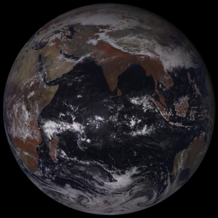 Satellite Géostationnaire russe.