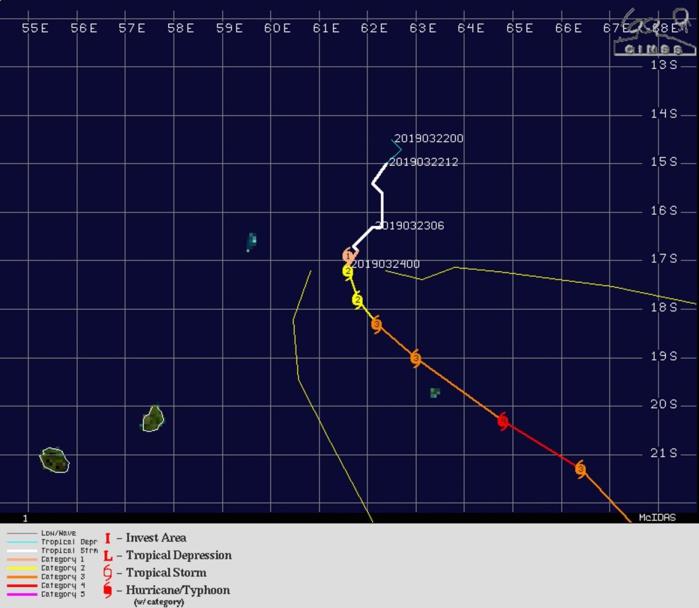 09UTC JOANINHA22S Category 1 US Intensifying To 3