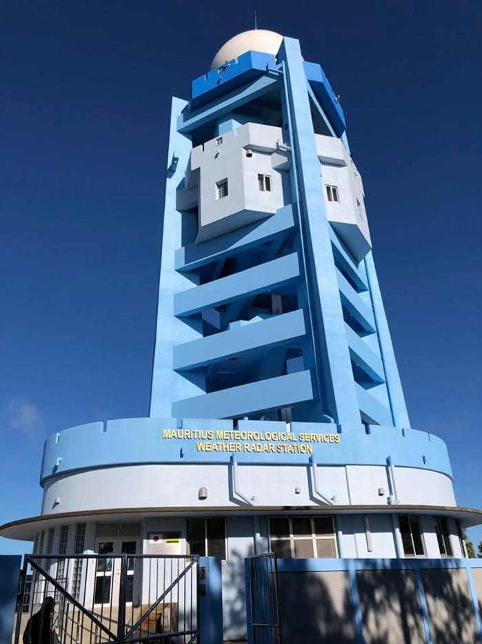 Maurice: radar de Trou Aux Cerfs: inauguration LIVE