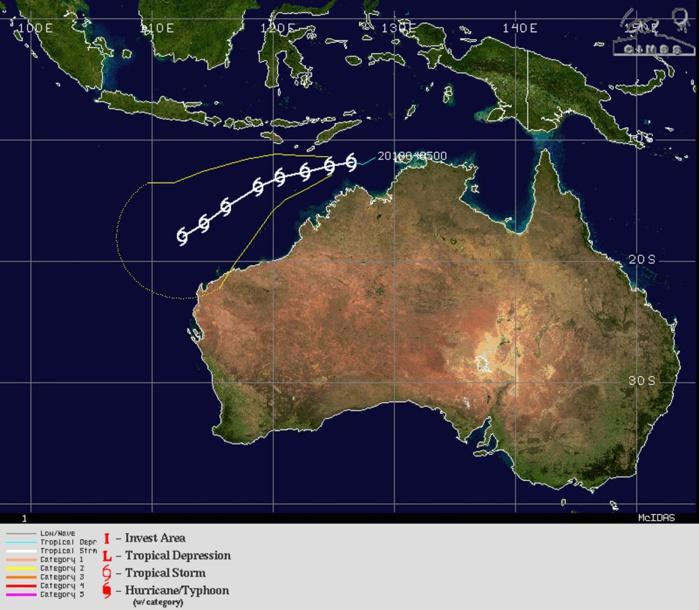 WARNING 3/JTWC