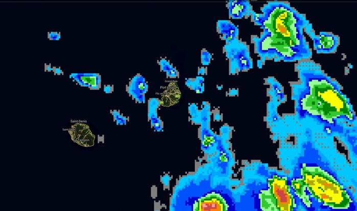 13h15: instabilité potentielle assez marquée sur la zone des Iles Soeurs.