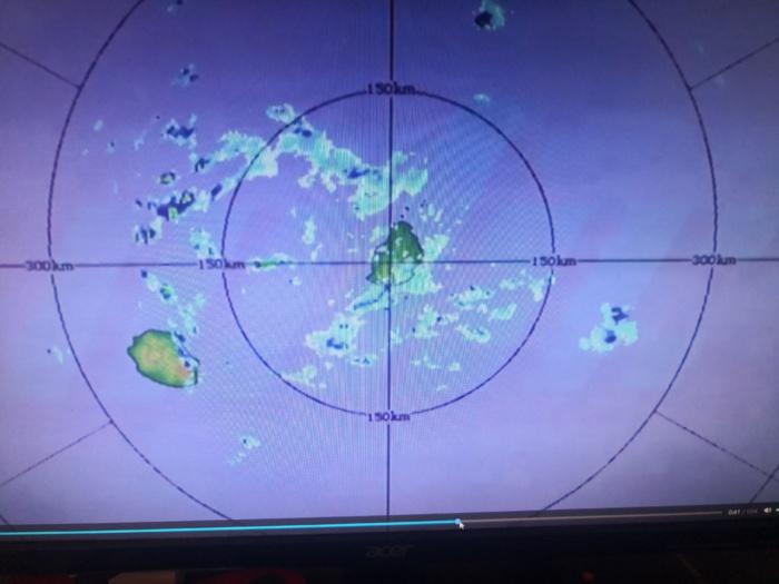 Image radar de Trou Aux Cerfs/Maurice à 10h21 ce jour