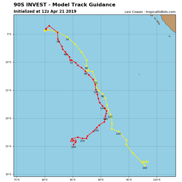 GUIDANCE FOR INVEST 90S
