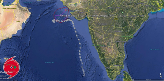 PEAK INTENSITY HAS BEEN RAISED TO 100KNOTS, CATEGORY 3 US. VIEW THE JMV FILE BELOW