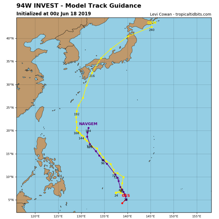 GUIDANCE FOR INVEST 94W
