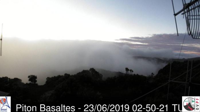 06h50: au volcan ce matin. METEO REUNION