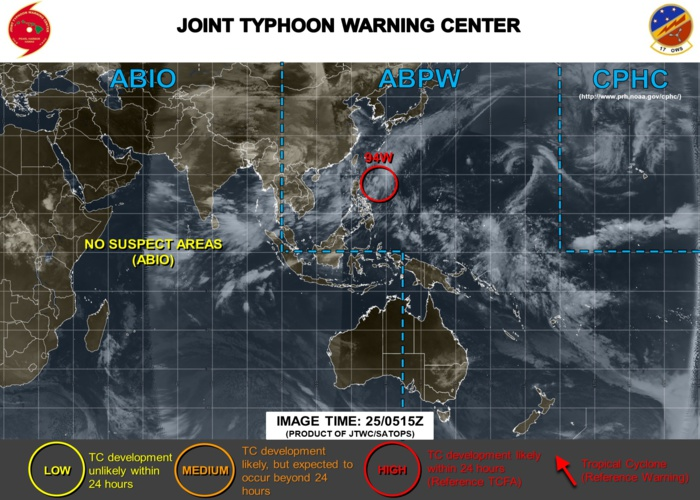 TCFA ISSUED BY THE JTWC