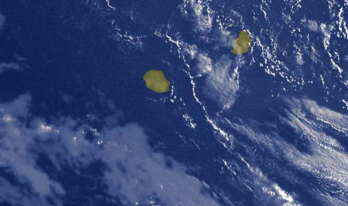 07h15: beau temps ce mardi sur la Réunion. Des nuages remontent lentement par le Sud-Ouest avec du vent de Sud sur les plages pour Mercredi.
