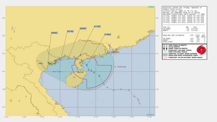WARNING 7/JTWC. INTENSITY SET AT 35KNOTS AND UNLIKELY TO INCREASE SIGNIFICANTLY