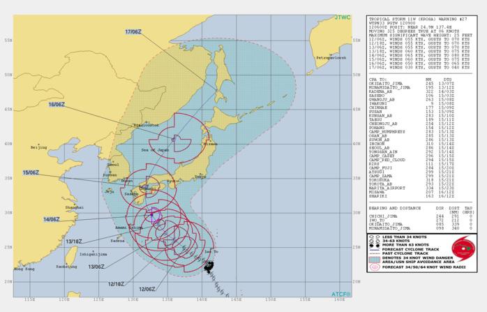 KROSA(11W): WARNING 27/JTWC