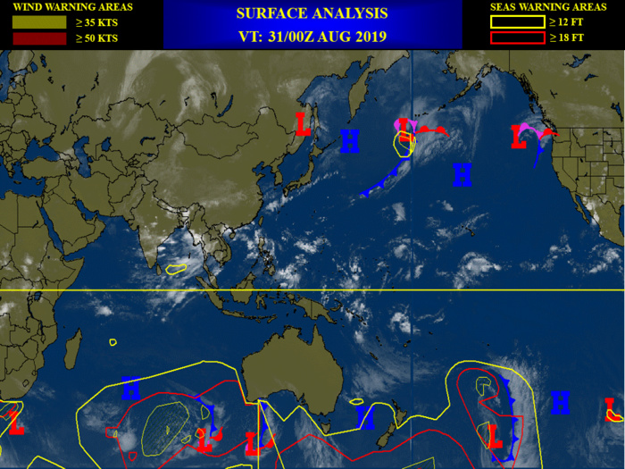 3 Invest areas under watch: 91W expected to intensify while over the South China Sea