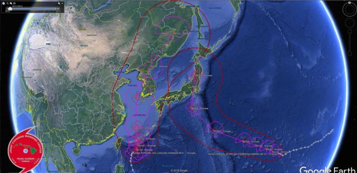 Typhoon Lingling(15W): rapid intensification possible, 14W update, Kajiki: final warning