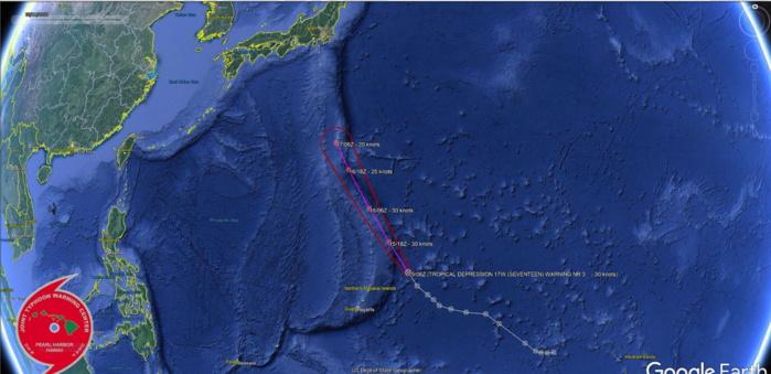 17W: WARNING 3/JTWC