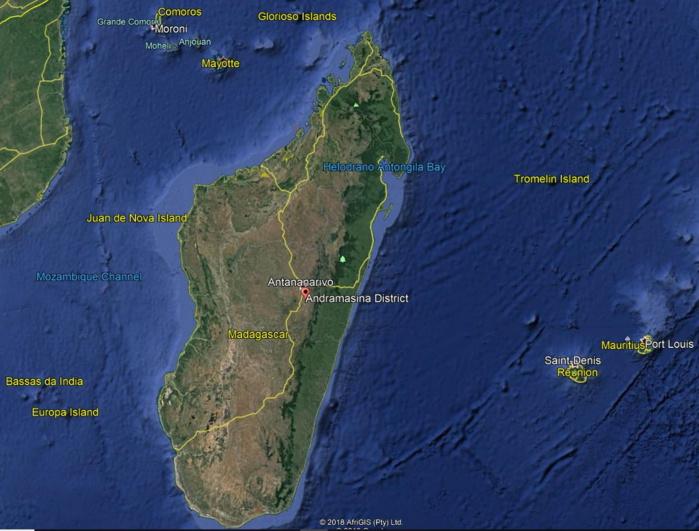 [VIDEO] Madagascar: des rues de Tana inondées, violent orage de grêle à Andramasina