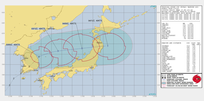 19W: WARNING 24. BECOMING EXTRATROPICAL