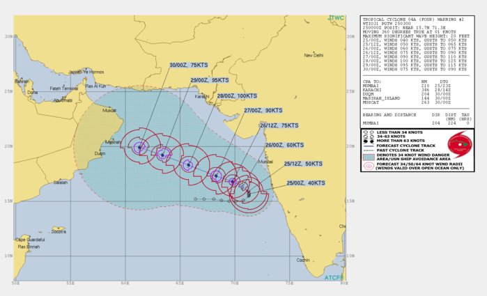 04A MAY REACH CATEGORY 3 US IN 72H