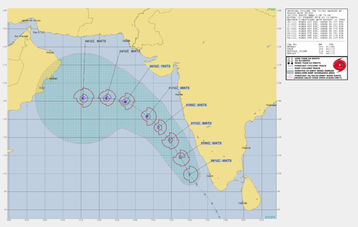 TC 05A: GRADUAL INTENSIFICATION EXPECTED UP TO MINIMAL TYPHOON INTENSITY IN 48H