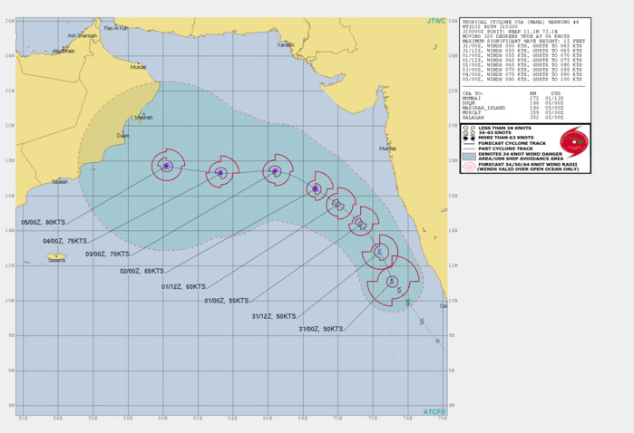 TC 05A: FORECAST TO REACH TYPHOON INTENSITY WITHIN 48H