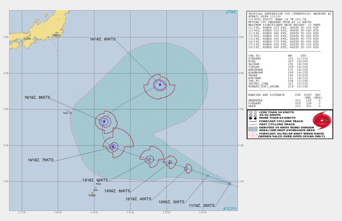 FORECAST TO REACH TYPHOON INTENSITY AFTER 48H