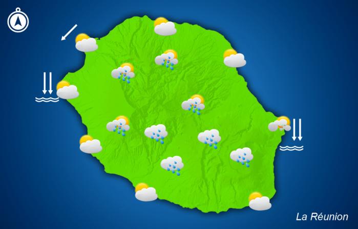 Réveil encore plus ensoleillé que prévu, des averses locales cet après-midi