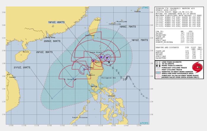 Typhoon Kalmaegi is approaching Northern Luzon