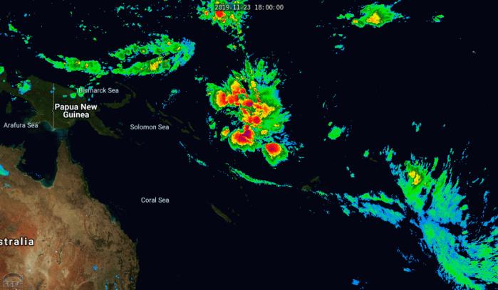 Cyclones: la saison de l'Hemisphère Sud 2019/2020 débute sur le Pacifique