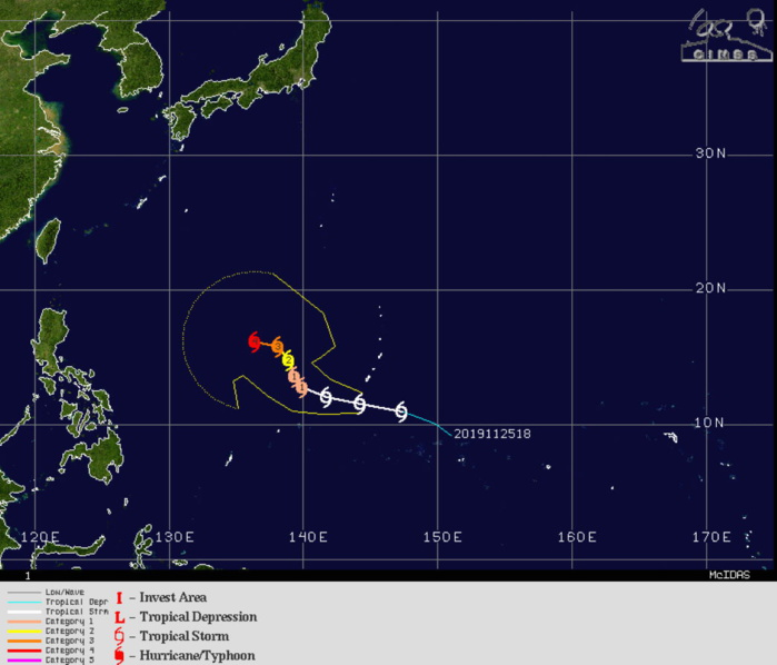 29W: EXPECTED TO INTENSIFY SIGNIFICANTLY NEXT 5 DAYS