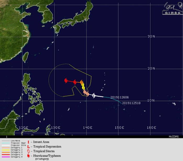 Kammuri(29W) set to be a Typhoon within 12/18h. TC Rita(01P): Final Warning