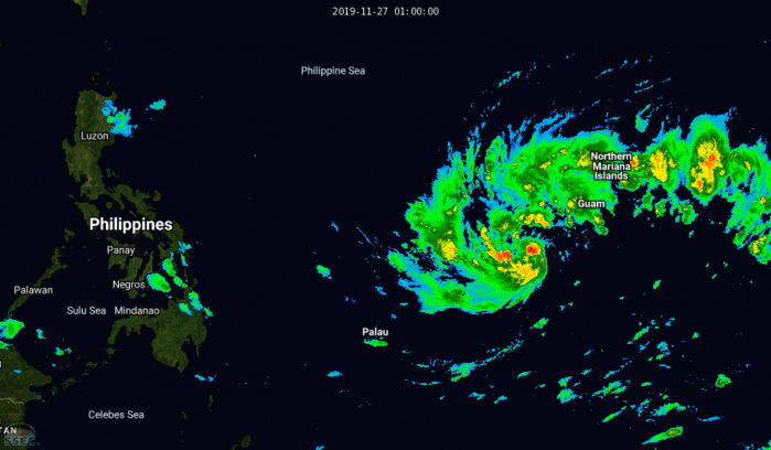 Tropical Storm Kammuri(29W): update at 27/09UTC