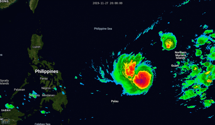Typhoon Kammuri could intensify to category 4 within 3 days while approaching the Philippines