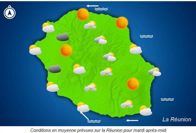 Temps sec et souvent ensoleillé, possible démarrage de l'activité cyclonique toujours surveillé au Nord de Mada