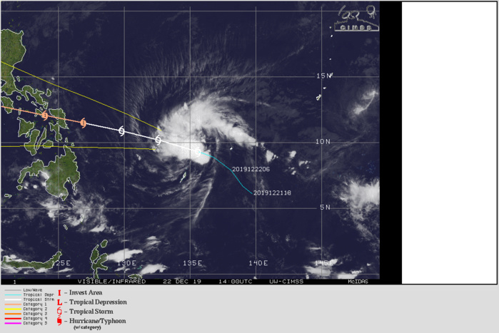 30W(Phanfone) intensifying next 36hours and approaching Samar/Philippines