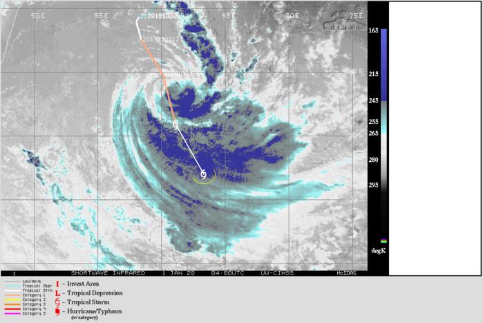 05S(CALVINIA) becoming extra-tropical transition, Final Warning