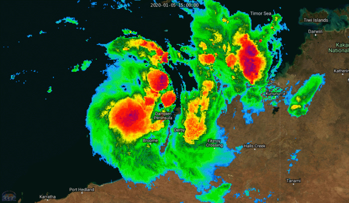 Invest 91S is now TC 06S: gradually intensifying and slowly approaching Pardoo area(WA)