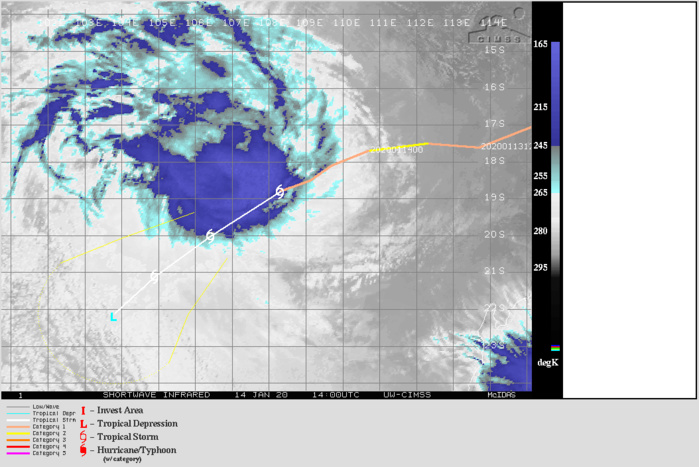 07S(CLAUDIA) is now rapidly decaying as a sheared system