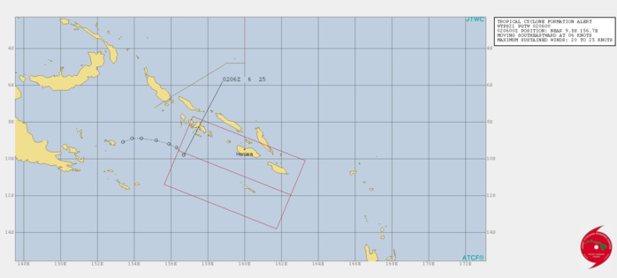 South Indian: TC 24S(IRONDRO) intensifying rapidly, South Pacific: Invest 90P: HIGH