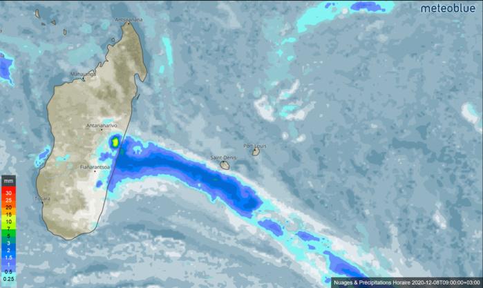 Un front froid relativement actif: un espoir pluvieux pour mardi et mercredi prochains pour les Iles Soeurs.